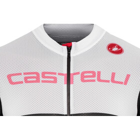 Castelli Free AR 4.1 FZ Jersey Men white/ light black